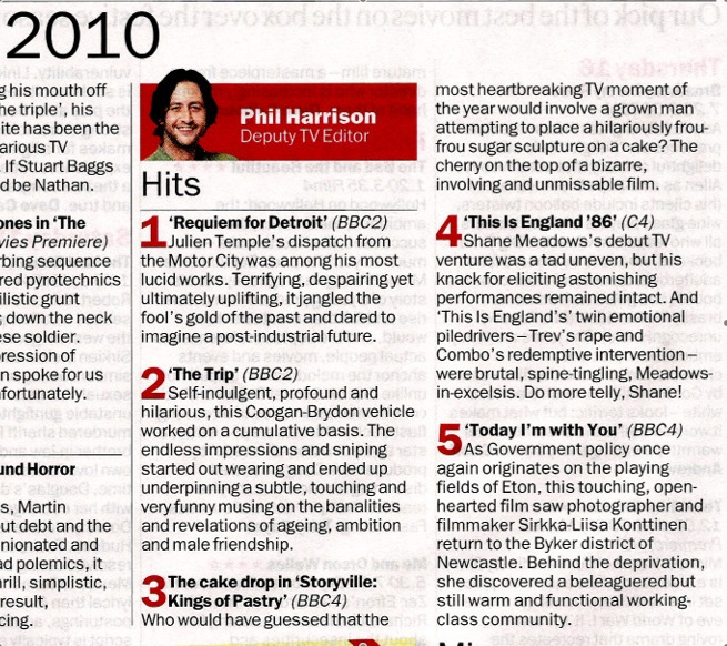 Time Out • Best of the Year 2010